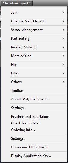 Polyline_expert_menu