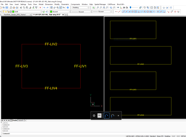 Cadpower As A Space Planning Formwork Design Tool Smart Ways To Work With Dwg Cad