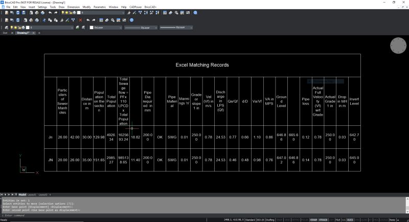 Excelquery_table_in_cad