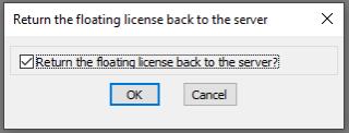 Floating_license_return